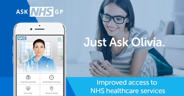 ASK NHS App Image and poster